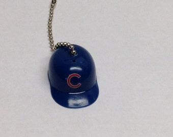 Handmade,Chicago Cubs  , Baseball Helmet Pull Chain, Ceiling Fan Pulls