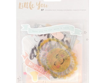 Crate Paper Little You Ephemera Pack -- MSRP 5.00