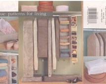 1999 - Vogue 7011 Sewing Pattern Closet Organizer Garment Bag Sweater Shelves Bedding Bag Home