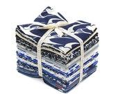 Cotton + Steel - COLLABORATIVE - Bluebird Fat Quarter Bundle