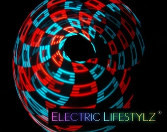 24 Hour Sale - Remote Control Kinetic LED Hoop