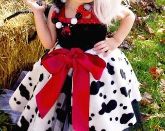 Cruella DeVille Inspired Tutu Dress