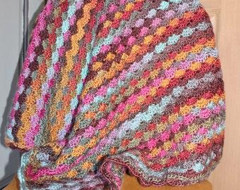 Colorful Girl Baby Blanket
