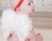 Heaven Sent Love Infant Boy/Girl Wings Photo Prop....Newborn, Small Infant, Valentine's Day, Cupid, Partywear