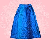 80s Nino Wong High Waisted Skirt