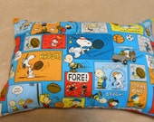 Peanuts Pillow Cotton Pillow Cover. Charlie Brown Pillow cover. Choose available sizes or request custom size