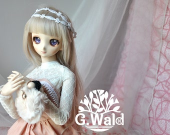 DD Dollfie dream outfit for L Bust-- Lovely Flora (Pink)
