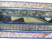 Silk Ribbon, Silk Bracelet, W548