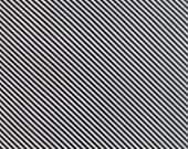 First Crush - Sweet Stripes in Black - Sweetwater for Moda Fabrics - 5604 24 - 1/2 yard