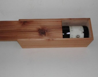 Wine Gift Box Redwood
