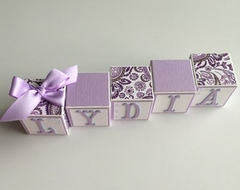 Custom Baby Name Blocks Baby Gift Baby Shower Newborn Nursery Decor Photography Boy Girl Personalized Babies Wall Sign Letters Name Sign