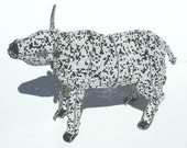Bull Hand Beaded - Creature From Africa.Lovable Animal Hand Crafted. Proud Bull From the African Plains. RESERVED FOR BUYER