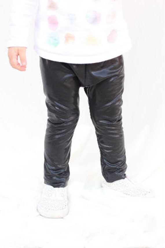 Baby Faux Leather Leggings Baby Clothing Baby Pants Leather