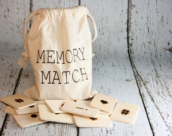 Memory Match Travel Game