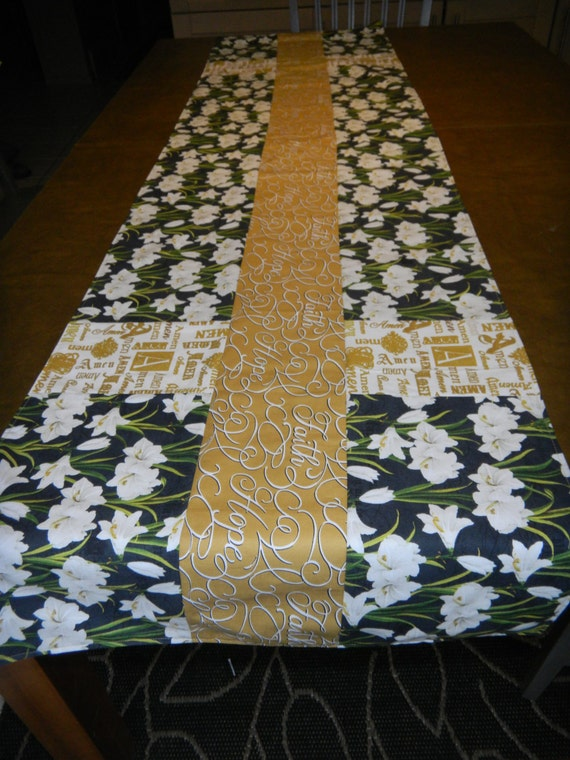 easter table runners easter wikii. Black Bedroom Furniture Sets. Home Design Ideas