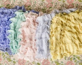 FIVE Ruffle Skirts Periwinkle, Mint, Blush, Ice Blue, Yellow | Spring skirts | Size 3T, 4T, 5, 6 | Ready to Ship SALE