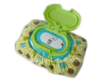 bulk baby wipe cover, baby wipe cover, polka dots, dot wipes, wipe cover, cover for baby wipes, diaper wipe cover, wipes bag, wipe covers