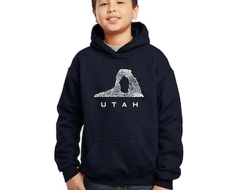 Boy's Hooded Sweatshirt -UTAH