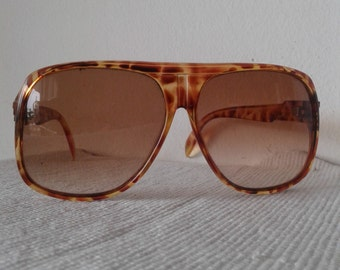 "Vintage 70s sunglasses made in Italy by "" Polinelli"",  Oversize sunglasses, hippie sunglasses, retro sunglasses"