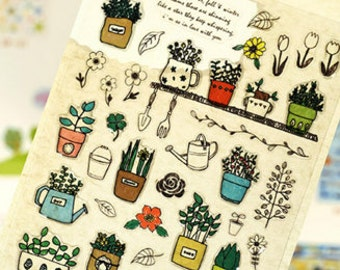 Diary Scrapbook Suatelier Embossed 3D Sticker Label Fragrance
