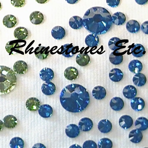 swarovski elements rhinestones and flat back by rhinestonesetc