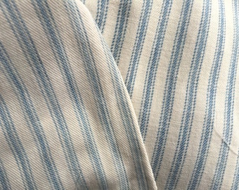 Antique Ticking 4 Plus Yds, Vintage New York State