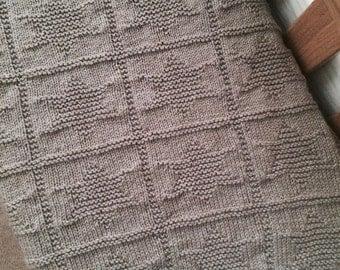 Irish Baby Blanket Knitting Pattern : Knit Baby Blanket Pattern, Baby Blanket Pattern, Knitting Pattern Blanket, Kn...