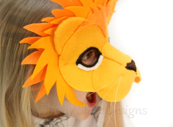 Pattern For Lion Mask 105
