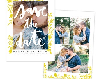 INSTANT DOWNLOAD - Save the Date card | Bride Kiss -  E1335