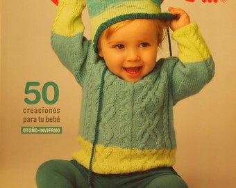 Katia Pattern book - dozens of knitted and crocheted patterns - SALE - only 7.99 USD instead of 10.99 USD