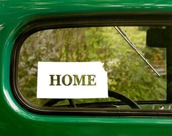 Kansas Decal, Car Decal, State Sticker, Laptop Sticker, Kansas Sticker, Bumper sticker, Vinyl Decal, Car Stickers