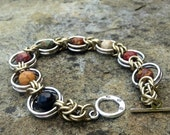 66% off Red Jasper Creek Faceted Chainmaille Bracelet