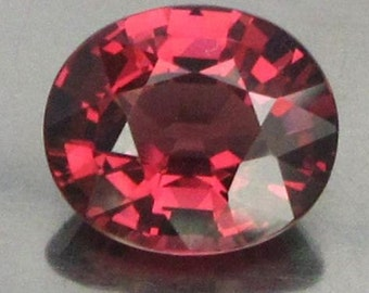 1.78 Ct Natural Pink Reddish Garnet Real Africa Unheated