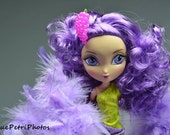 Fashion Doll Photography, LaDeeDa Doll Photos, Purple, Barbie Photos, Girlie Girl Photos, Girls Room Decor, Fashion Doll Collector Gift