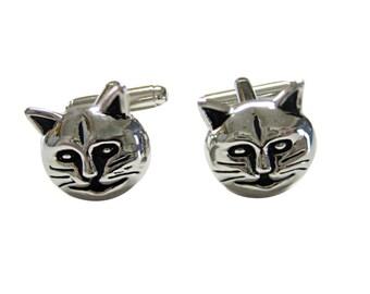Cat Head Cufflinks