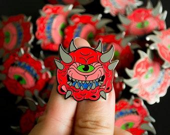 DOOM Cacodemon / Lapel Pin / Jewelry / Badge
