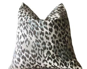 Kravet Echo Bosana Pillow Cover,Leopard Print Pillow