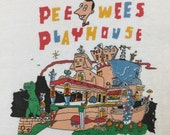 Original 1987 Pee Wee's playhouse tee shirt