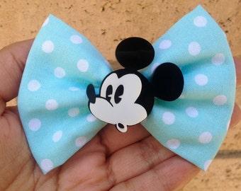 SALE Mickey Mouse hair bow