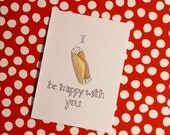 I Cannoli Be Happy With You- Punny Valentine Card- Foodie Jokes, Pastries, Cannoli, Love Cards, Blank Cards, Anniversary Cards,Wedding Card