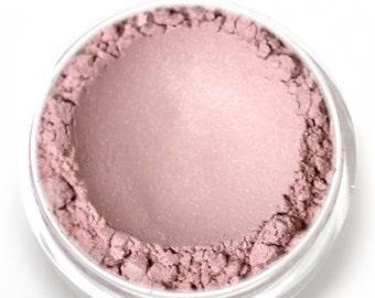 "Stardust Highlighting Powder - ""Aura"" (light frosty pink highlight, Net Wt 3g jar) - Vegan Makeup Highlighter"