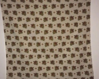 Vtg SOULEIADO French Provençal Cotton Bandana Scarf