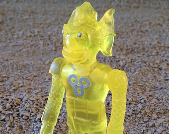 SEA-BORG MUTATION  Wave 2 Plastic Resin Figure - yellow
