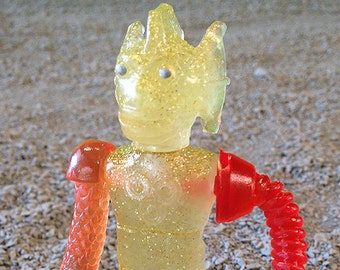 SEA-BORG MUTATION  Wave 2 Plastic Resin Figure - Fall glitter robot