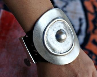 Agac Tribal Bracelet Bohemian Jewelry Leather Bracelet