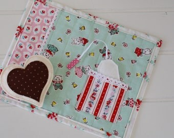 Pocket Playtime Placemat, Snack Mat, Gift Idea
