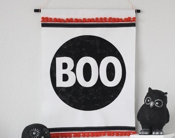 Stencil ONLY for this BOO Wall Hanging/Sign