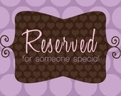 Reserved for princessaripeyton