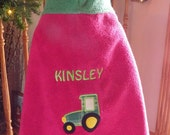 Tractor Hooded Towel - Free Personalization