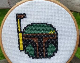 Boba Fett Cross-stitch Kit